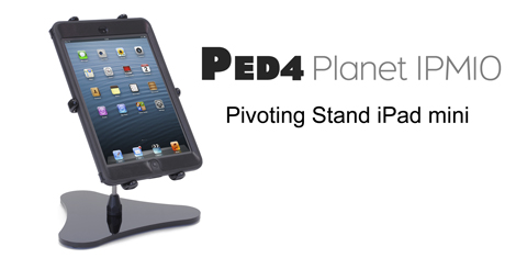 PED4 Planet IPM10 Pivoting Stand iPad mini