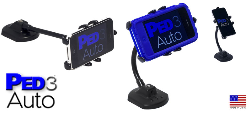 PED3-Auto Universal Mounting Steel Rotating Stand