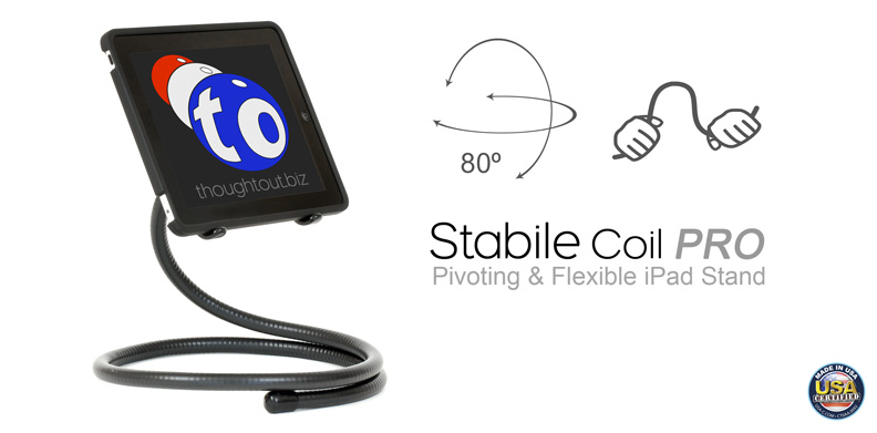 Stabile Coil PRO Flexible iPad Stand
