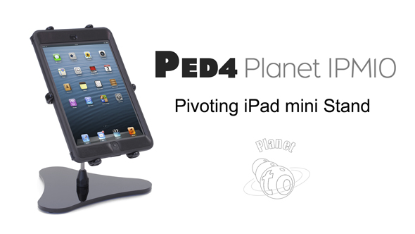 PED4 Planet Pivoting iPad mini Stand