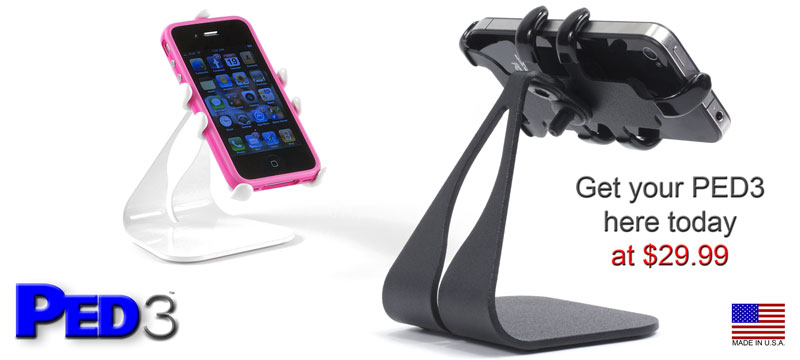 PED3 iPhone Desktop Rotating Stand - USA